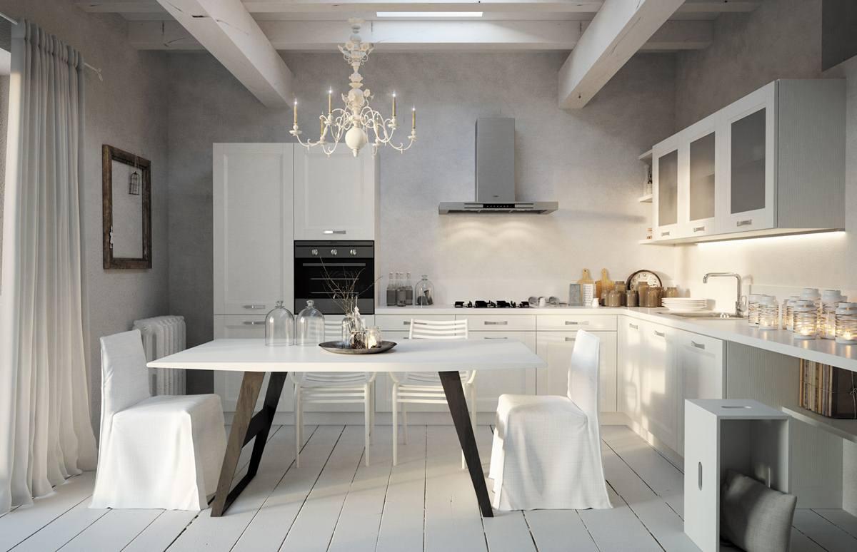 Cucine legno moderne cucine legno foto i with cucine for Cieffe arredamenti