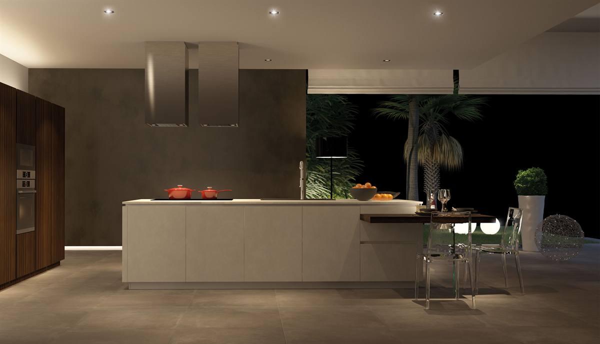 Cucine open space moderne Barberino di Mugello, Cucine soggiorno ...